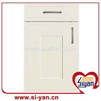 white shaker wood kitchen cabinet door