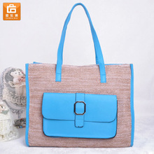 Fancy Straw Beach Bag for Girl