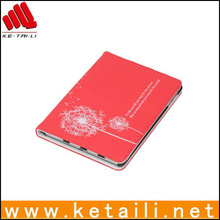 comfortable material product leather case for ipad mini