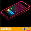 Light Up Phone Case for iPhone 5 5S,Sense LED Colorful Flash Light Case for S4
