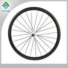 bicycle parts china 700c carbon 38mm tubular wheel carbon aero spoke wheel
