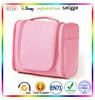 3 Space Hanging Toiletry Bag Travel Organizer Pink-Lyceem