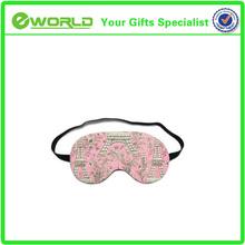 Bestselling Logo Printed Custom sleeping Eye Mask