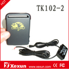 Original XeXun Updated TK102-2 Portable Small GPS Personal Tracking Device with LBS Tracking and SD Slot for Continuous Tracking