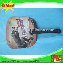 2014 New Arrival Popular Modern Factory Price plastic hand fans sticks