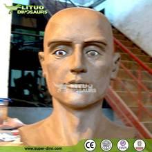 Life Size Animatronic Human Head
