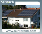 Pitched roof solar mounting system/solar mounting solution