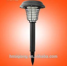 Waterproof ,high efficiency and safe solar mosquito killer lamp/solar mosquito killing light/solar zapper light