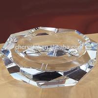 customized glass ashtray beautiful crystal ashtray MH-6098