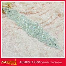 Tea Rhinestone crystal Trim Rhinestone applique Decoration beautiful pretty clear abaya shoes
