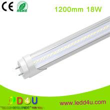 Battery Built in T8 LED Tube Light Wide Voltage input AC85V to AC265V battery powered led tube light