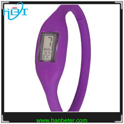 2014 Best seller women men negative colorful sport silicone watch with gift package