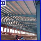 low cost portal frame steel warehouse/workshop