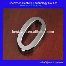 factory directly custom smooth surface metal zero aluminum prototype