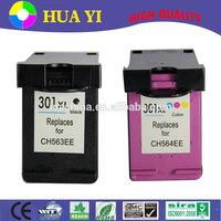compatible hp 301 301xl Remanufactured ink cartridge chip resetter for hp deskjet 5525