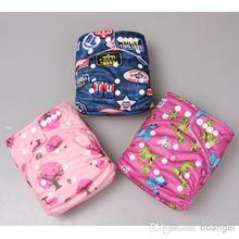 Adjustable One-size 8-35Lbs 'Sleepy Owl',baby cloth sleepy baby diapers
