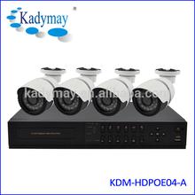 NVR KIT CCTV 1Megapixel IP/Network Camera System With POE