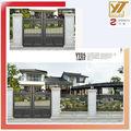 alumínio luxo automático casa villa principais portões de entrada
