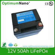 solar street light lithium ion battery 12V 50Ah