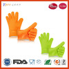 100% Food Grade Heat Resistant Cooking Gloves Silicone Oven Mitts