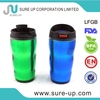 LFGB baby plastic sippy cup with handle