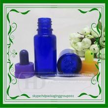 New design 15ml glass jars high quality blue glass bottles glass bottles for liquor