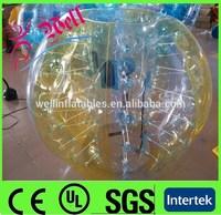 2014 hot sell inflatable bumper ball/human inflatable bumper bubble ball/buddy bumper ball for adult