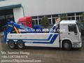 sinotruck howo 6x4 schwere abschleppwagen rotator