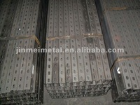 Photovoltaic stents accessories, carbon steel, U channels