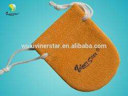 custom design microfiber pouch for glasses jewelry