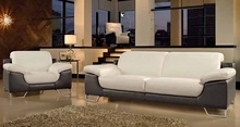 MODERN LEATHER SOFA YYL2007 LIVING ROOM sofa LOUNGE SUITES