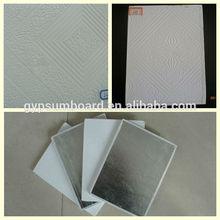 60x60 pvc gypsum ceiling tiles factory