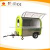 Mobile hot dog food concession trailer, Crepe vending van, Fryer food cart