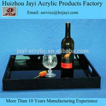 Acrylic tray with insert