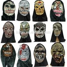 Halloween high quality terrorist halloween latex mask
