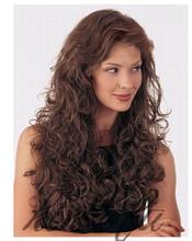 Top Quality Charming long afro kinky human hair wig