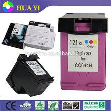 compatible hp ink cartridge 121 121xl for HP Deskjet F2530 F2545 2560 F2563 F2568 F4240 F4280 F4288