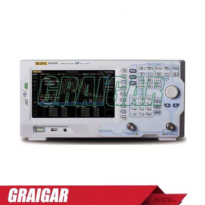 Dsa875-tg Spectrum Analyzer Rbw 10 Hz To 1 Mhz Frequency Domain ...