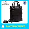 High end luxury leather portable shoulder bag men briefcases bag