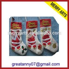 Yiwu Cheap Fashion Children wholesale handicraft christmas stockings alibaba China wholesale