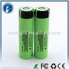 Panasonic car battery original panasonic ncr18650b 3.6v 18650 battery 3400mah max life battery