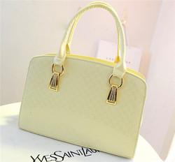 Hot selling elegant fashion women handbag pu leather handbag