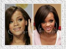 100% Chinese virgin short bob human hair wig 7a grade full lace wig for black women