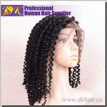 Guangzhou brazilian full lace wig,black short afro wigs
