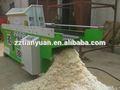 Granja de aves de corral 1500kg/h madera máquina de afeitar para camas de caballos