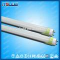 transparente o la leche cubierta 1200mm 18w t8 led tubo de luminaria