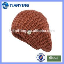 women nice cheap knitted beret