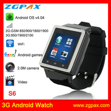 Android 4.0 3G Smart Watch 1.2GHZ MTK6577 Dual Core Bluetooth Camera