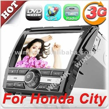 "Special offer 8"" digital touch screen In dash car dvd for Honda CITY 2012"