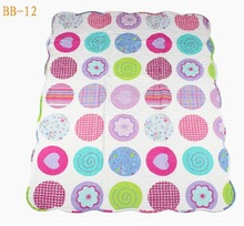 Printing patchwork baby quilt